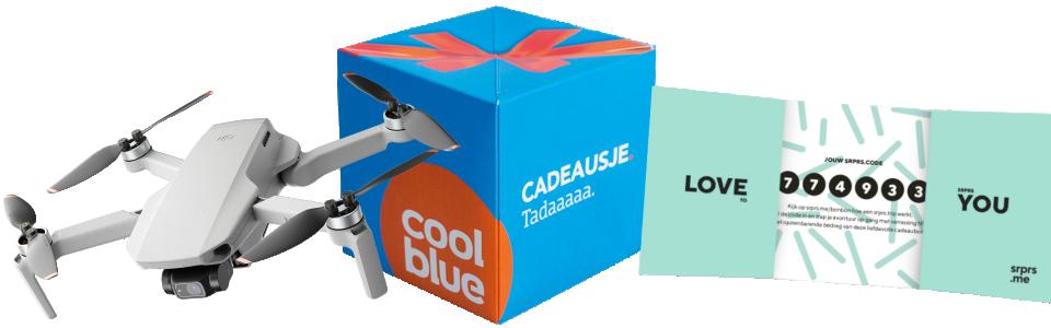 dji drone cadeaubon coolblue srprs.me vakantie dronewedstrijd Columbus Travel KIJK Magazine
