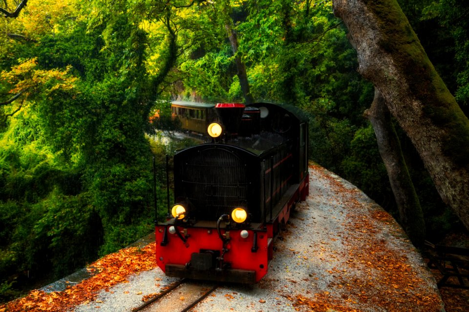 De historische stoomtrein vanuit Volos CREDIT iStock
