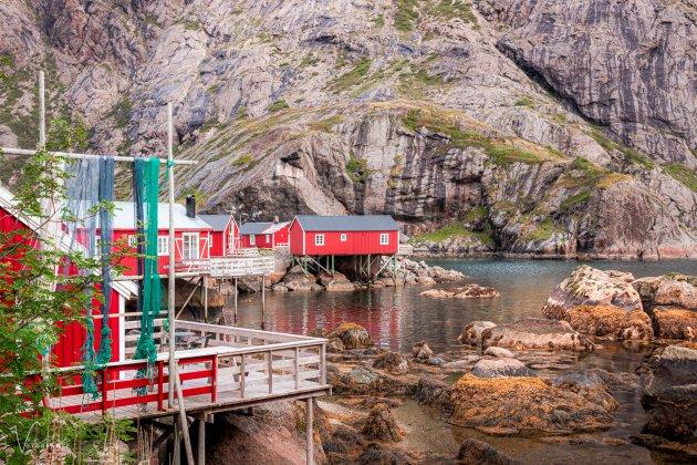 Vissersdorpje in de Lofoten