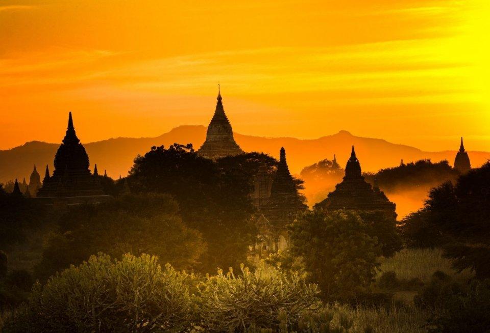 Bagan, Myanmar. Foto: Getty Images