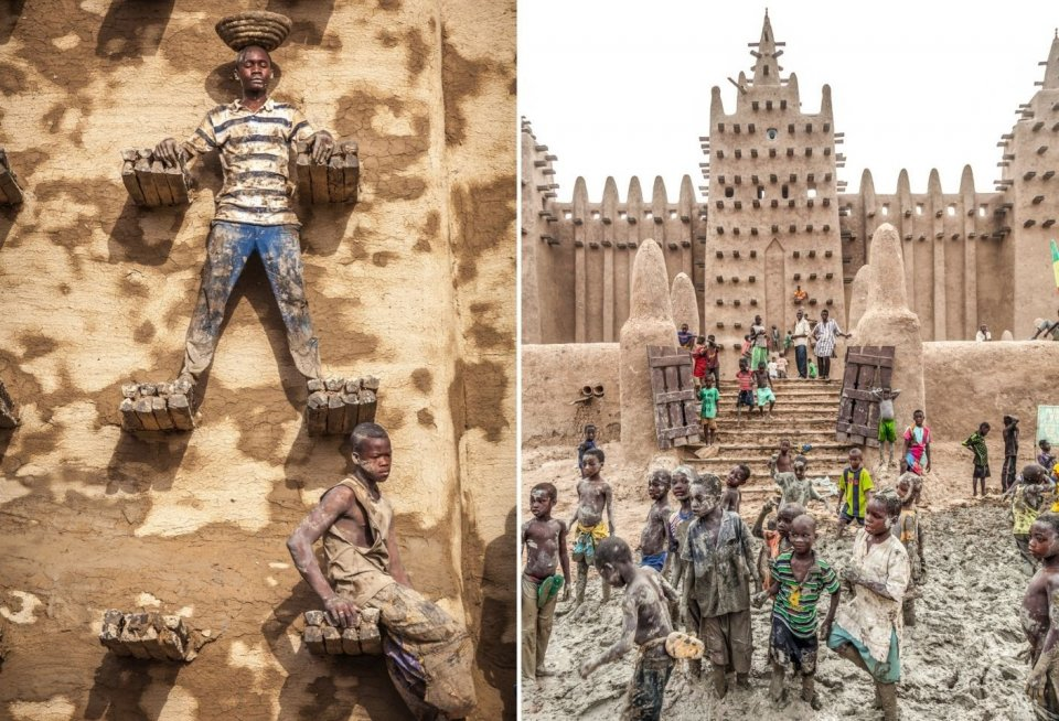 Moskee van Djenné, Mali