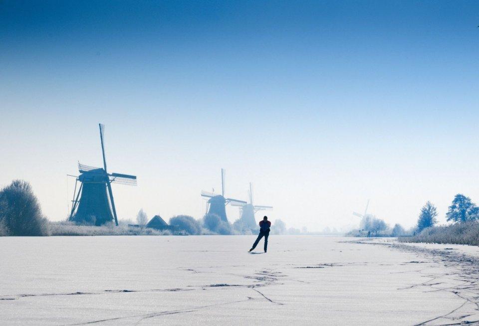 Molens van Kinderdijk-Elshout. Foto: Pidjoe/ iStock