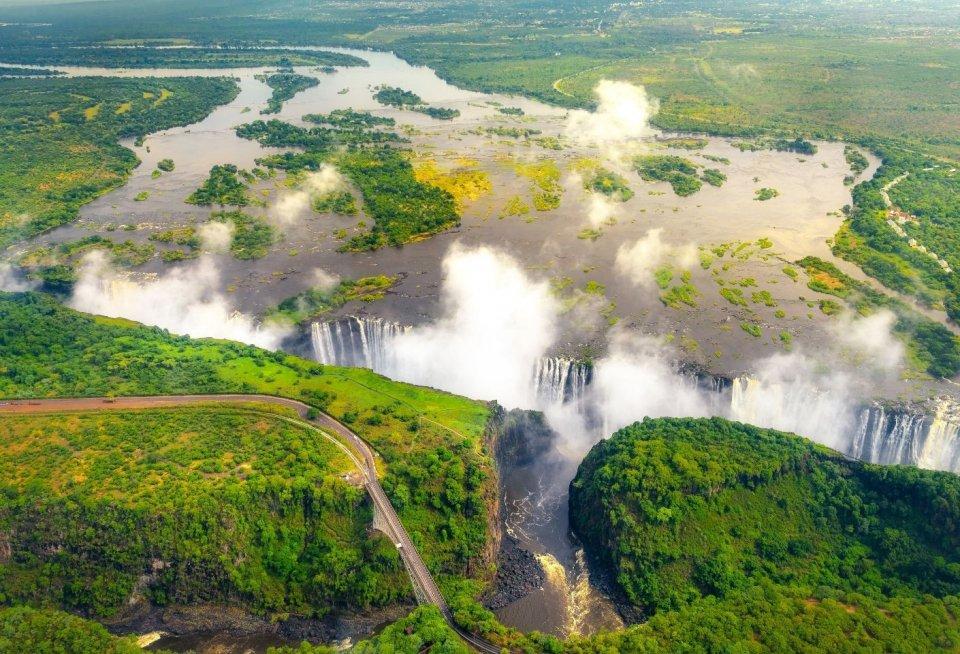 Victoria-watervallen. Foto: Getty Images