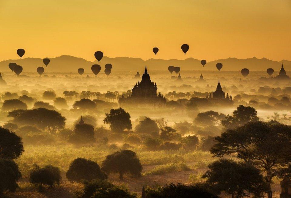 Bagan, Myanmar. Foto: Nick Fox