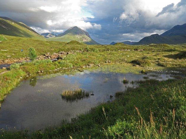 Cuillin Hills  Isle of Skye  Scotland