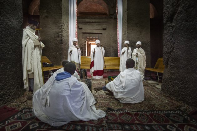Ethiopië Lalibela Timkat Festival