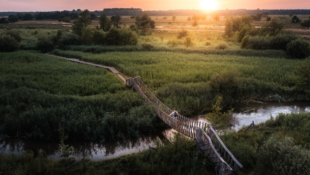 Plateaux-Hageven: Loop van Nederland naar België en terug