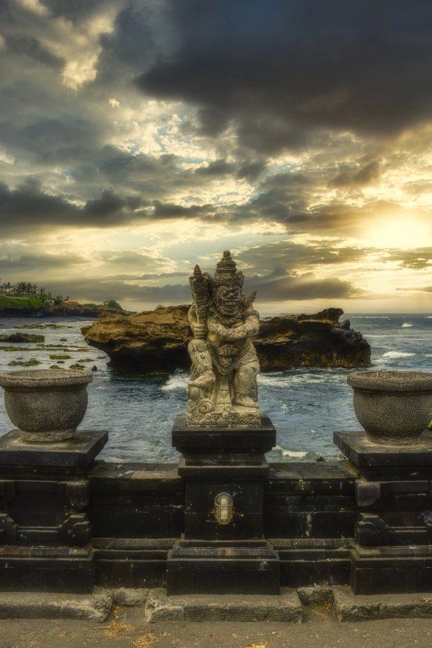 Bali tempels aan het water