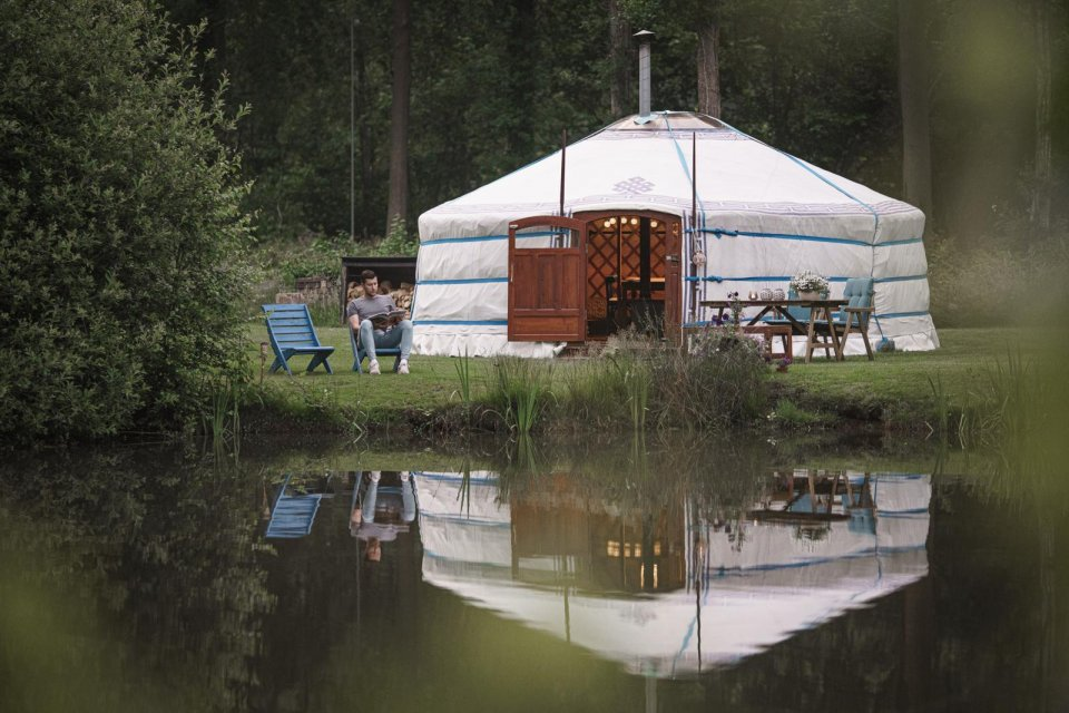 Steppetenten van Noorder Yurts CREDIT Tim Bilman