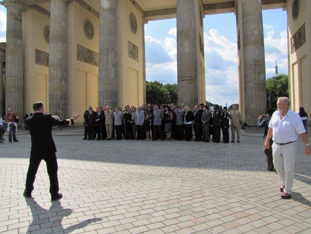 Het Brandenburger Tor-koor