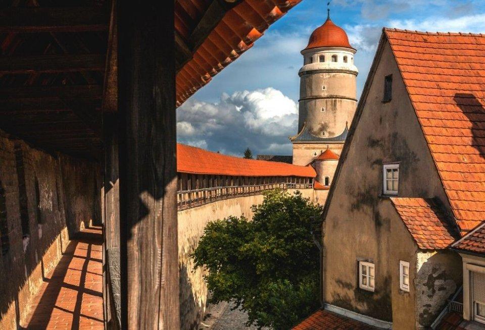 Cirkelvormige binnenstad van Nördlingen. Foto: Getty Images