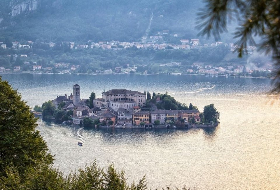 Isola San Giulio, Italië. Foto: Getty Images