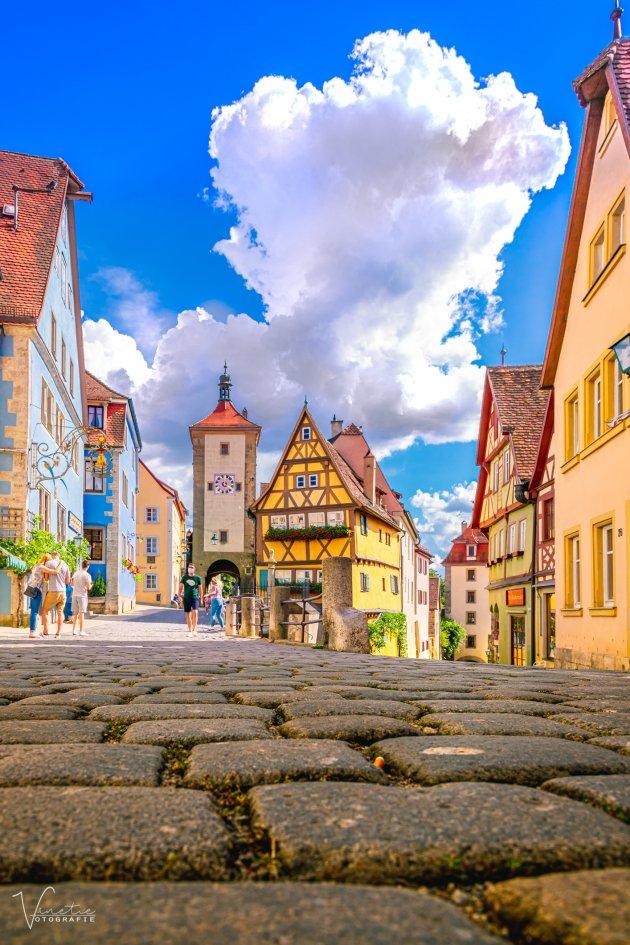 Het Plönlein in Rothenburg ob der Tauber