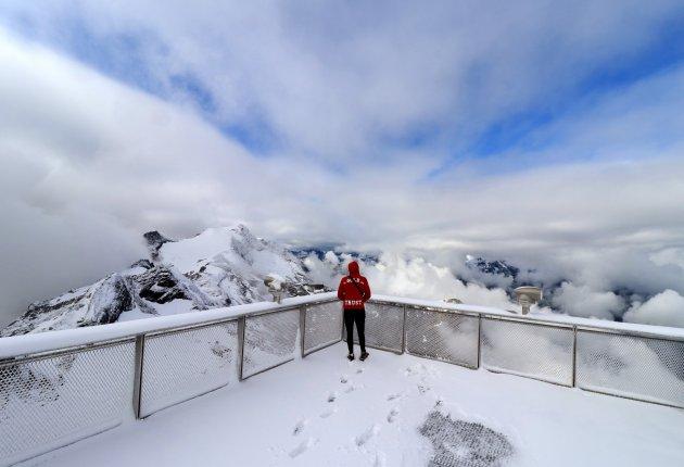 Kitzsteinhorn uitzicht