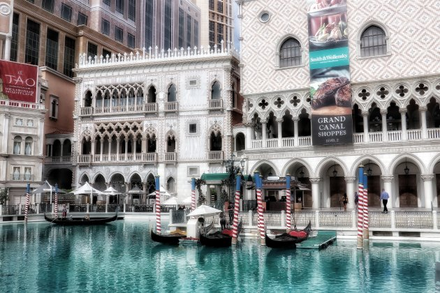 Venetië, nee Las Vegas