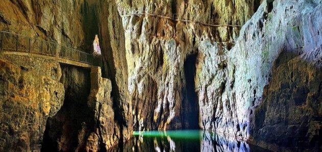 Uitgang Škocjan Caves