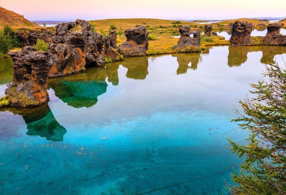 Wandeltochten - Myvatn IJsland - Getty Images
