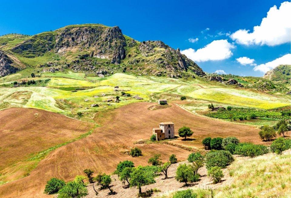Wandeltochten - Sant' Angelo Muxaro Italië - Getty Images