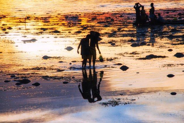 Sundown in Panglou