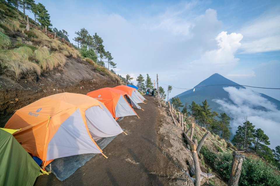 Fuego vulkaan in Guatemala CREDIT iStock