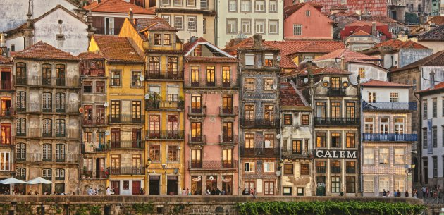 Zomeravond in Porto