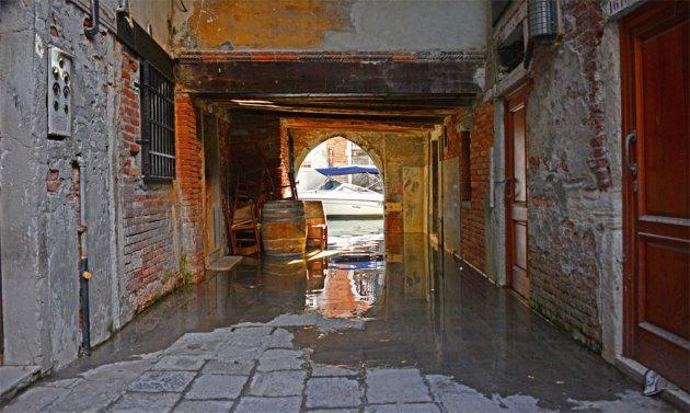 Oud steegje in Santa Croce