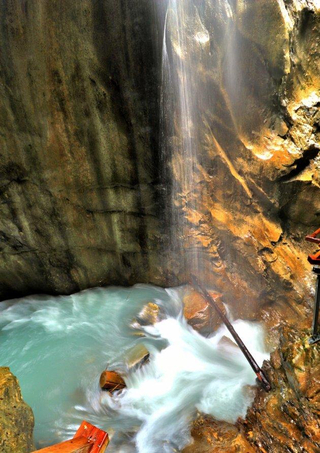 Sigmund Thun Klamm onder de waterval