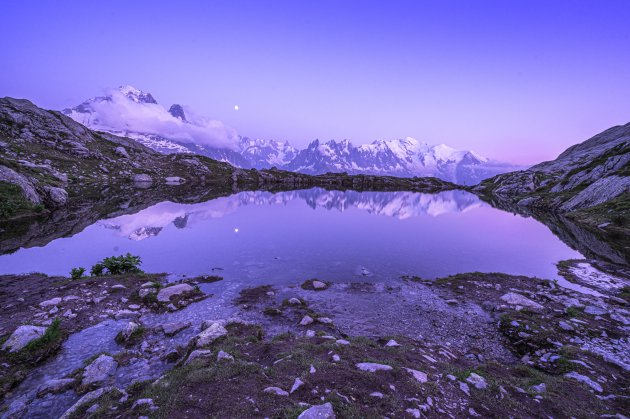Reflecting Mont Blanc