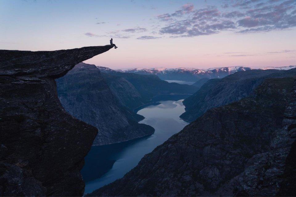 Trolltunga Noorwegen Credit iStock