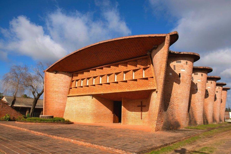 Kerk van Atlantida, Uruguay. © ANP