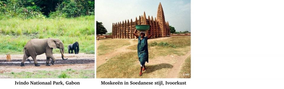 De nieuwe Werelderfgoederen van Afrika