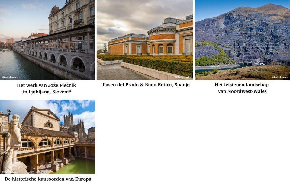 De nieuwe Werelderfgoederen van Europa
