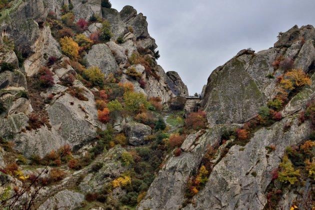 Herfst in de Lucanische Dolomieten