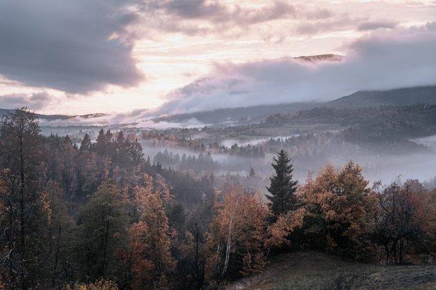 Slovenië in de herfst.