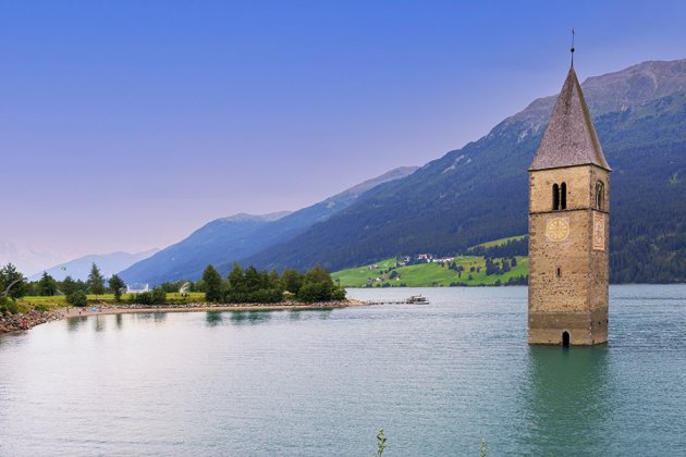 Verdronken dorp