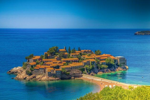 Sveti Stefan, onbetaalbare parel in de Adriatische zee