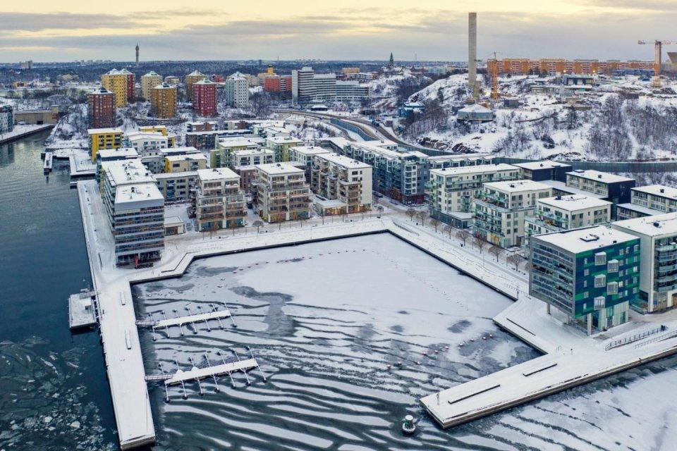 Hammarby Sjöstad - Stockholm CREDIT iStock