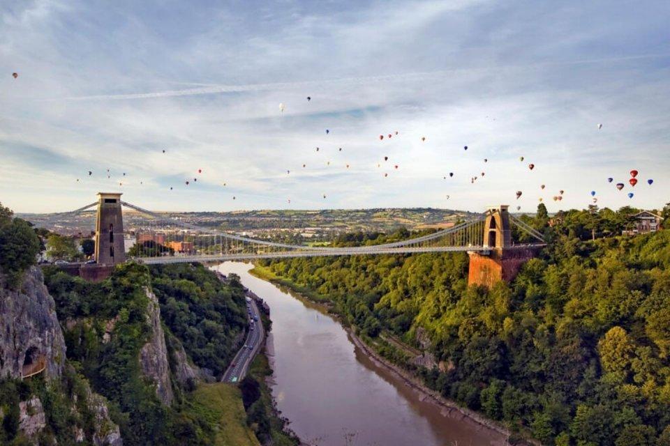 International Balloon Fiesta en Avon Gorge - Bristol CREDIT iStock
