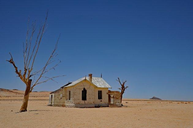 Garub railway station Namibië