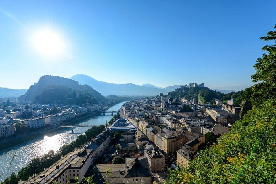 Salzburg - Trotseer de stadsbergen CREDIT iStock