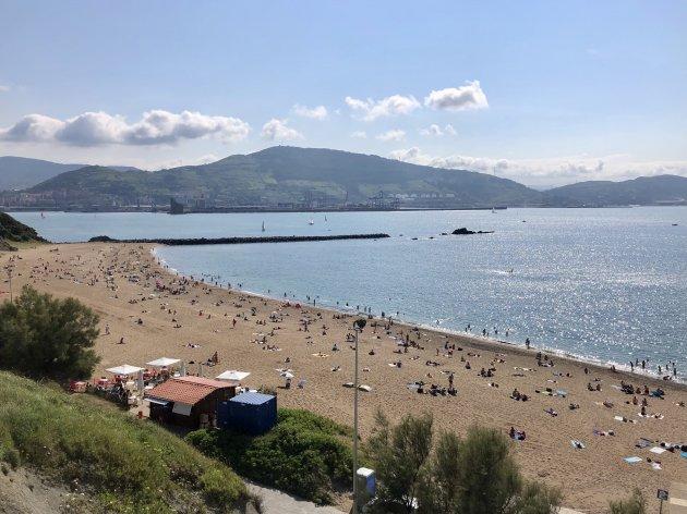 Het strand van Getxo