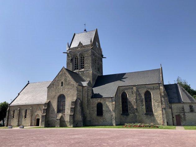 Bezoek aan Sainte-Mère-Église