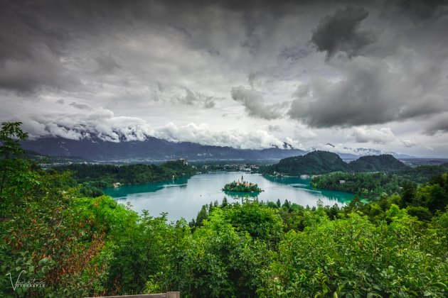 Het welbekende Meer van Bled