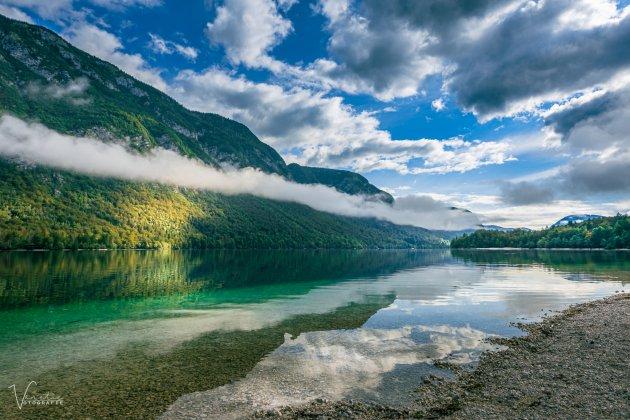 Lake Bohinj in the morning