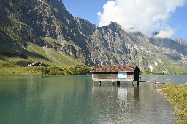 Ski school aan het water