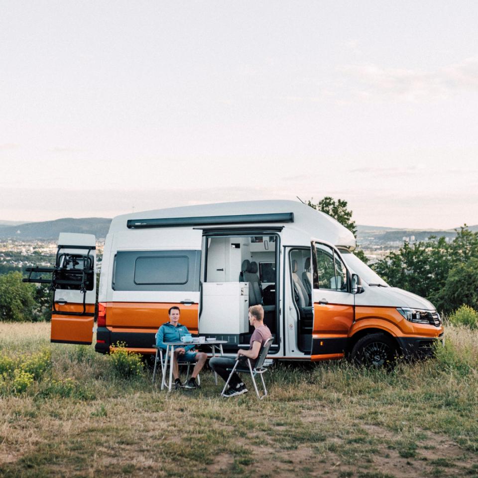 Korting op camper of caravan van Paulcamper