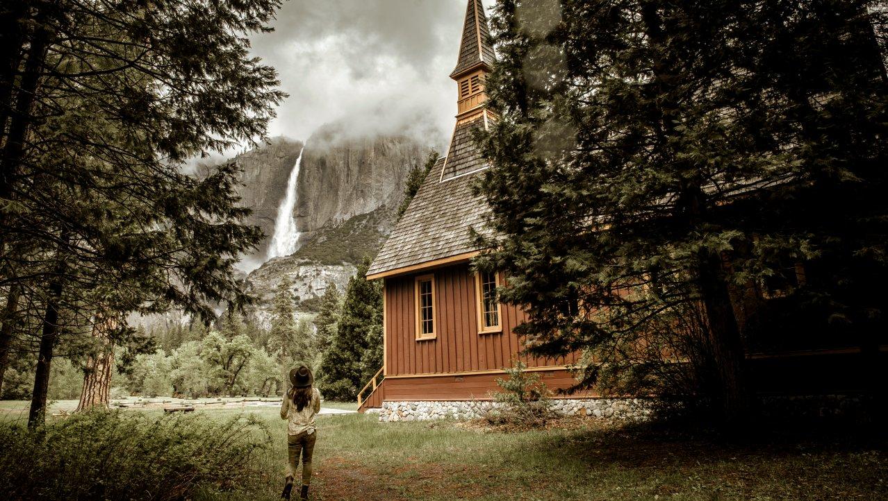 Mysterieus Yosemite NP