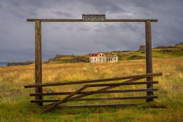 Verlaten boerderij