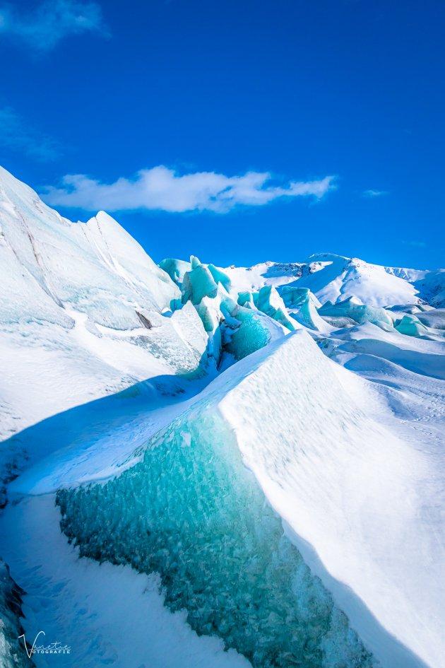 Gletsjer Skaftafellsjökull