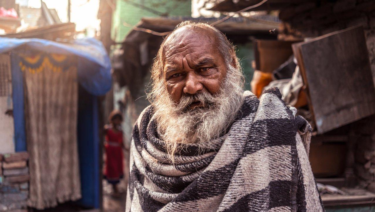 In the Mumbai slums